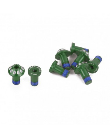 NINER JET 9 Carbon/RDO Pivot Bolt Kit, Green