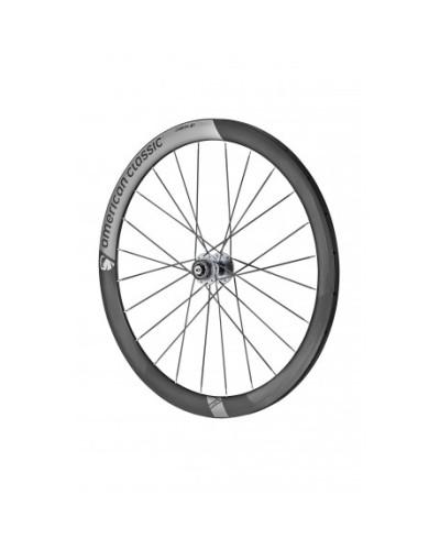 American Classic Carbon 46 Tubular Disc Rennradlaufräder, stealth black