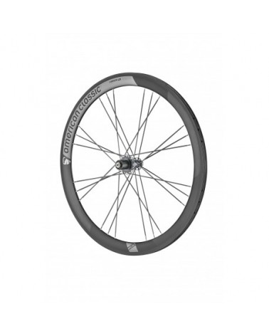 American Classic Carbon 46 Tubular Road Wheels, stealth black