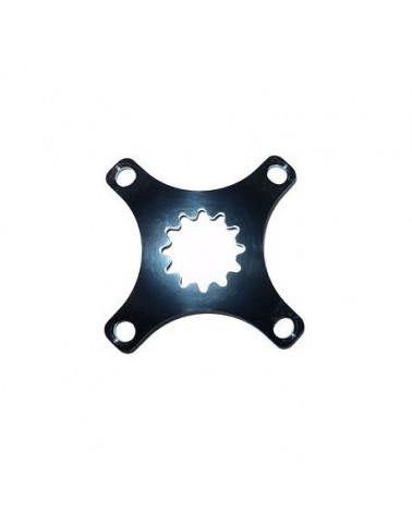 Middleburn RS8 Single Spider, 4-Arm, for SRAM XX1 chainring, black, without chainring