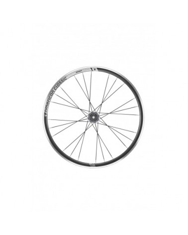 American Classic Argent 30 Tubeless Clincher Rim, Front, 18-Hole, Black Uppercut