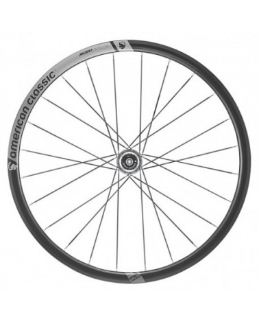 American Classic Argent 30 Tubeless Disc Felge, 24-Loch, Stealth Black