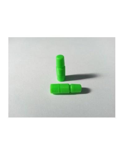TRIPEAK Cadapter White Valve Cap / Valve Adapter (Presta/Dunlop - Schrader), Set of 2