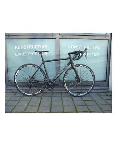KONSTRUCTIVE Rhodolite DBV, medium, pure carbon with Shimano Ultegra Disc, American Classic wheels, Syntace Components