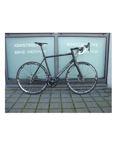 KONSTRUCTIVE Rhodolite DBV, extra large, pure carbon mit Shimano Ultegra Disc, American Classic wheels, Syntace Komponenten