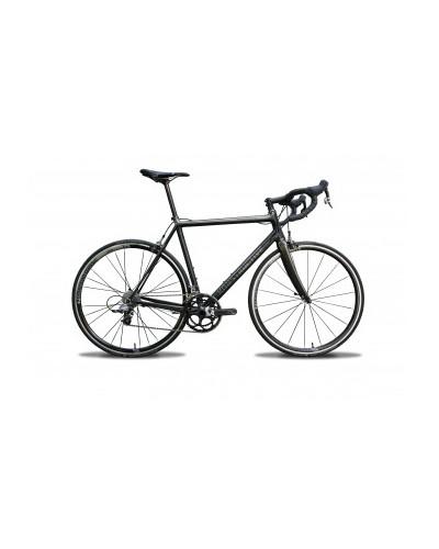 Konstructive RHODOLITE Rim Brake Road Bike frame, pure carbon style, size 52 cm