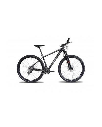 Konstructive TOURMALINE 29er Mountain Bike Rahmen/ frame, pure carbon style, Größe / size small