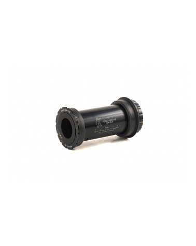 TRIPEAK Twist-Fit Innenlager PressFit 30 / BB30 / PressFit 30A / BB30A auf 24mm Shimano / 24 -22 mm SRAM GXP, Stahl-Kugellager
