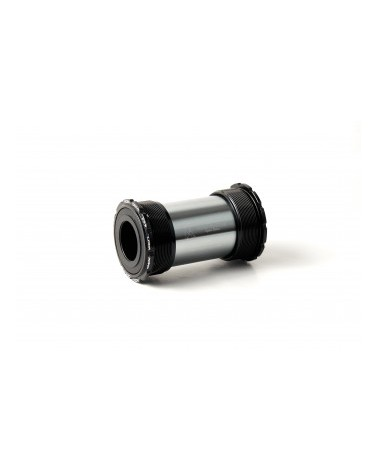 KONSTRUCTIVE Twist-Fit bottom bracket Colnago C60/CR1 for 24mm Shimano or 24-22mm SRAM GXP axle, Steel Bearings