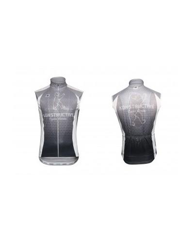 "Konstructive Clothing, mens all season windbreaker, ""Team Nano Carbon"" style, Größe / size small"