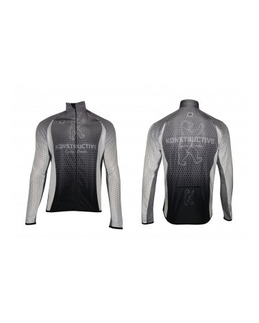 "Konstructive Clothing, mens superlight windbreaker, ""Team Nano Carbon"" style, Größe / size small"