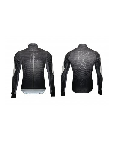 "Konstructive Clothing, mens all season windbreaker, ""Team Nano Carbon"" style, Größe / size small"