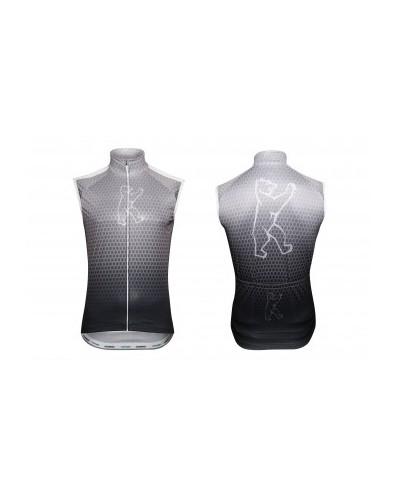 "Konstructive Clothing, mens cycling vest, ""Team Nano Carbon"" style, Größe / size small"