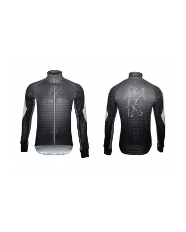 "Konstructive Clothing, mens softshell cycling jacket, ""Nano Carbon"" style, Größe / size small"