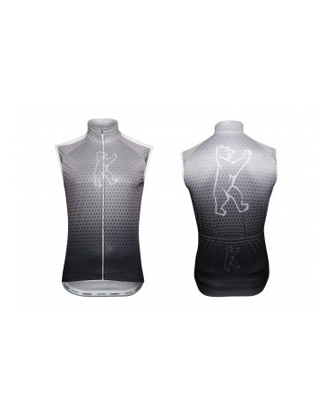 "Konstructive Clothing, mens cycling vest, ""Team Nano Carbon"" style, Größe / size small"