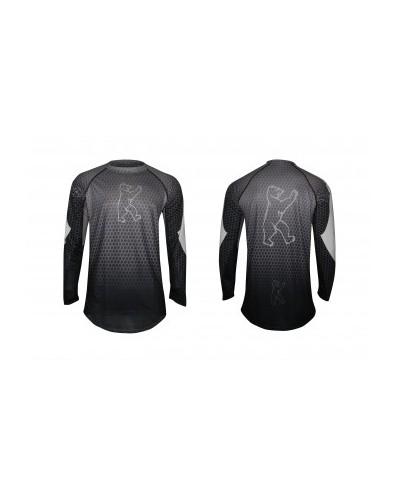 "Konstructive Clothing, mens cycling jersey, short sleeved, ""Nano Carbon"" style, Größe / size medium"