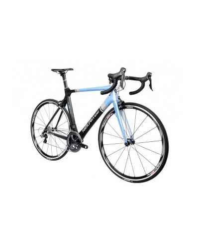 NeilPryde Alize SRAM Force 22 Rennrad, Large, schwarz/blau mit Ritchey WCS Komponenten und American Classic Laufrädern