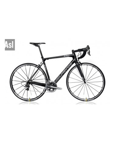 Neil Pryde Bura SL, medium, black mit SRAM Red, American Classic wheels, Deda Komponenten