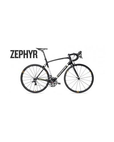 NeilPryde Zephyr SRAM Force Rennrad, Medium, schwarz/grün, American Classic Laufräder, Ritchey WCS Komponenten