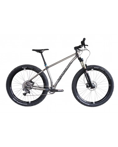 KONSTRUCTIVE Tanzanite, Large, Silver/Grey with Shimano XT, Rock Shox Revelation, American Classic Wheels, Syntace Components
