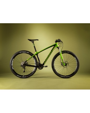 NINER Air 9 RDO, Medium, Green/Black with SRAM X9, Rock Shox SID XX, American Classic Wheels, Niner Components