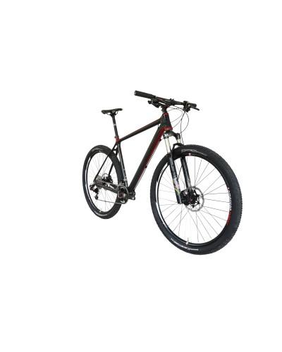 Konstructive IOLITE 29 Mountain Bike Rahmen-Set / frame set, red and pure carbon style