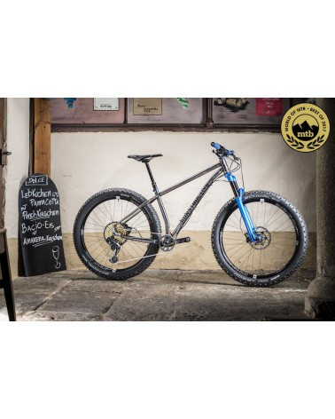 Konstructive TANZANITE Steel 29er / 650B+ Mountain Bike Rahmen/ frame