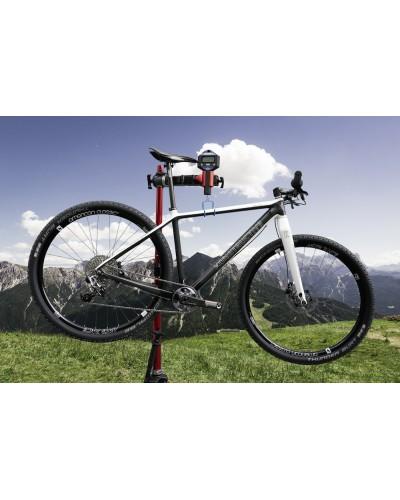 Konstructive IOLITE 29 Mountain Bike Rahmen-Set / frame set, white and pure carbon style
