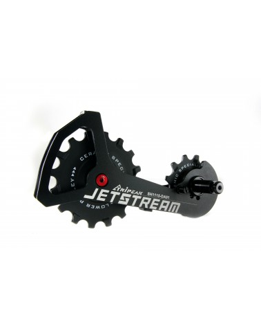 "KONSTRUCTIVE ""Jetstream"" for Shimano Dura Ace 91XX with alloy cage, 16 and 12 Tooth pulleys with ceramic bearings"
