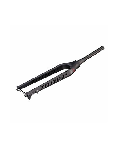 "NINER Carbon Mountain Bike Fork 29"", 110 mm boost axle, tapered, 490 mm long, Post-Mount-Disc-Brake-Mount, Color: Black Nude"