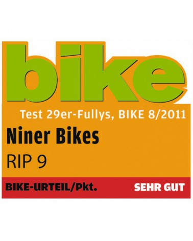 NINER RIP 9, Aluminium, extra large, Hot Tamale