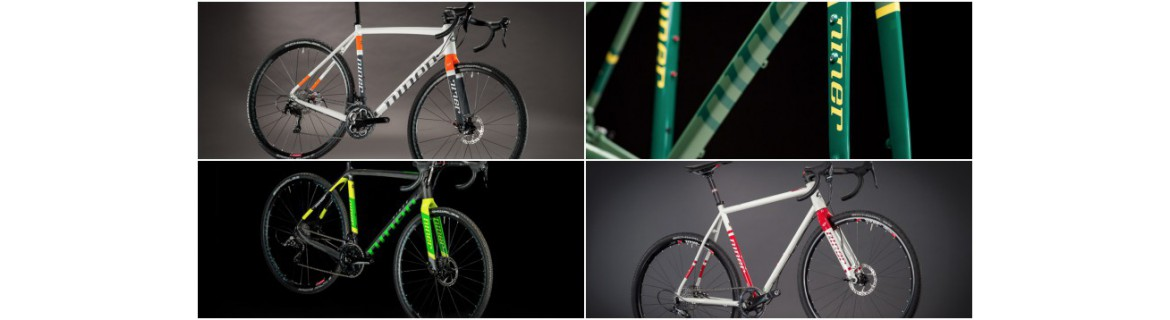 Gravelbikes and Cyclocross-Bikes